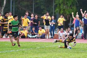 ACS(I) retain B division rugby title