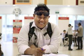Azhar Ahmad, 36, job-seeker, who was at the Punggol resource centre on Saturday