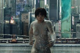 Movie Review: Ghost In The Shell (PG13)