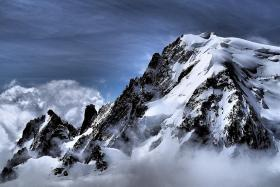 Mont Blanc, beautiful giant of France