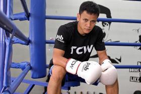 Boxer Ridhwan gets shot at world title