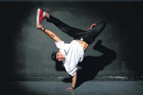 He stays hip-hop healthy