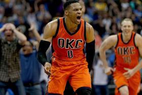 Westbrook lands record-breaking 42nd triple-double