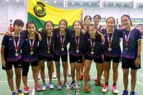 Gritty SCGS down NYGH to reach badminton final