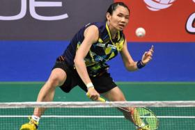 Unstoppable Tai clinches OUE Singapore Open title