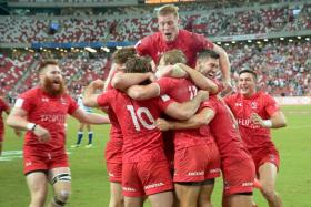 Canada win first HSBC Sevens title