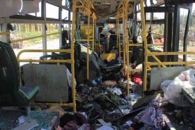 Syria bus bomb kills at least 112