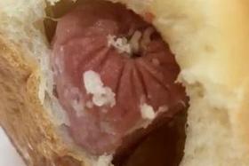 Boy found maggots in sausage bun, says mum