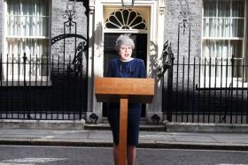 British PM calls for snap general election on June 8