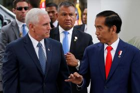 Pence praises Indonesia's moderate form of Islam