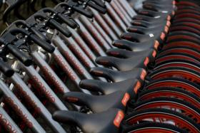 Bike-sharing platform Mobike expects to add up to 1,000 bicycle parking zones here by the end of the year.
