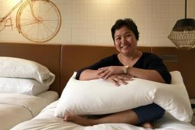 Domestic helpers treated to staycation and spa