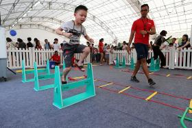 Grants, support available for GetActive! Singapore organisers