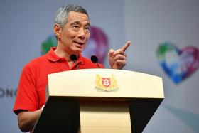 PM Lee: Job creation, placement efforts and training the focus