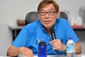 Singapore Athletics president Ho Mun Cheong.