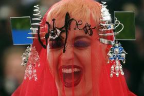 Celebrities embrace avant-garde challenge at 2017  Met  Gala