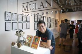Local artist tops comic awards' nominations