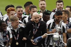 Newcastle win Championship crown, Blackburn relegated
