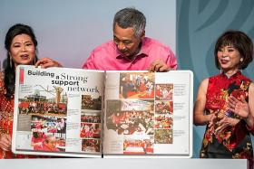 PM Lee launches book celebrating WEC's 50 years