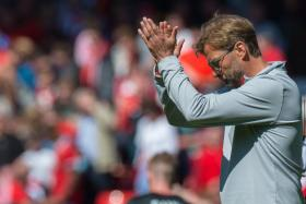 Liverpool Manager Juergen Klopp reacts after the match against Southampton