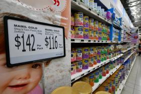 Parents choose pricier milk powder due to kids' allergies