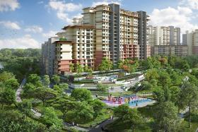 HDB flats made up 73% of Singapore's total housing stock