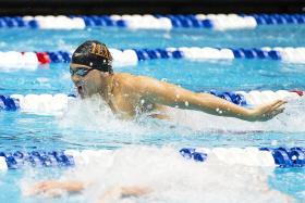 Schooling qualifies for fourth event at world championships