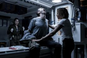 A scene in the med bay. He does not get better.