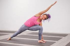 Elvina Cheong is 26, a certified yoga teacher and she runs her own yoga studio in the Central Business District called Freedom Yoga