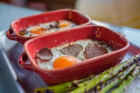 Baked Egg with Truffles