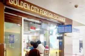 Money changers say fewer customers are buying ringgit.