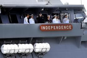 S'pore navy has 'built up well-connected network'
