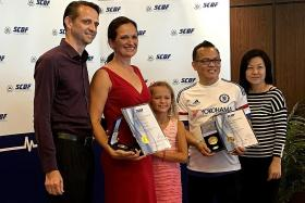 East Coast Park rescuers get award