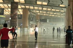 T2 fire sparks delays at Changi Airport