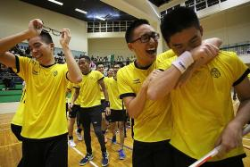 VJC stun floorball kingpins RI
