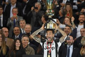 Juventus secure first trophy of treble bid