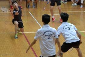 RI boys retain A Div badminton crown