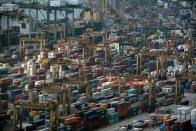 Exports from Singapore to China has slowed.