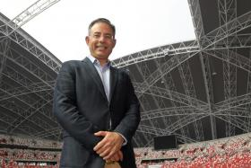 Singapore Sports Hub chief executive Manu Sawhney