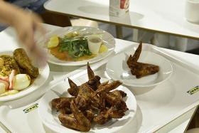 When did Ikea chicken wings stop 'meeting customers' satisfaction'?