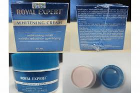 HSA: High levels of mercury in Royal Expert Whitening Cream