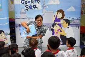 Telling stories of sailing the high seas
