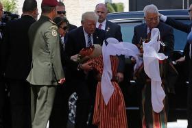 Trump hopeful for Israel-Palestine peace
