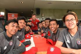 Ariffin shines with five goals at the FC Bayern Youth Cup