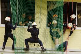 Man in the net