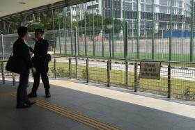 unattended bags at Aljunied MRT