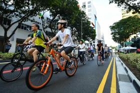 Plans unveiled for cycling network in the city