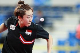 Feng upbeat about medal hopes at world championships