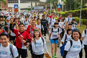 Walk for a worthy cause