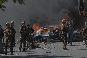 Vehicle bomb carnage in Kabul